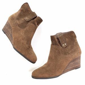 Lucky Brand | NEW Gennee Genuine Leather Suede